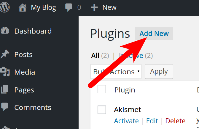 Installing Plugins in WordPress